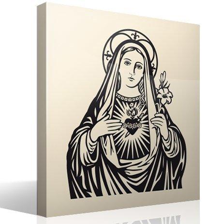 Wandtattoos: Jungfrau Maria