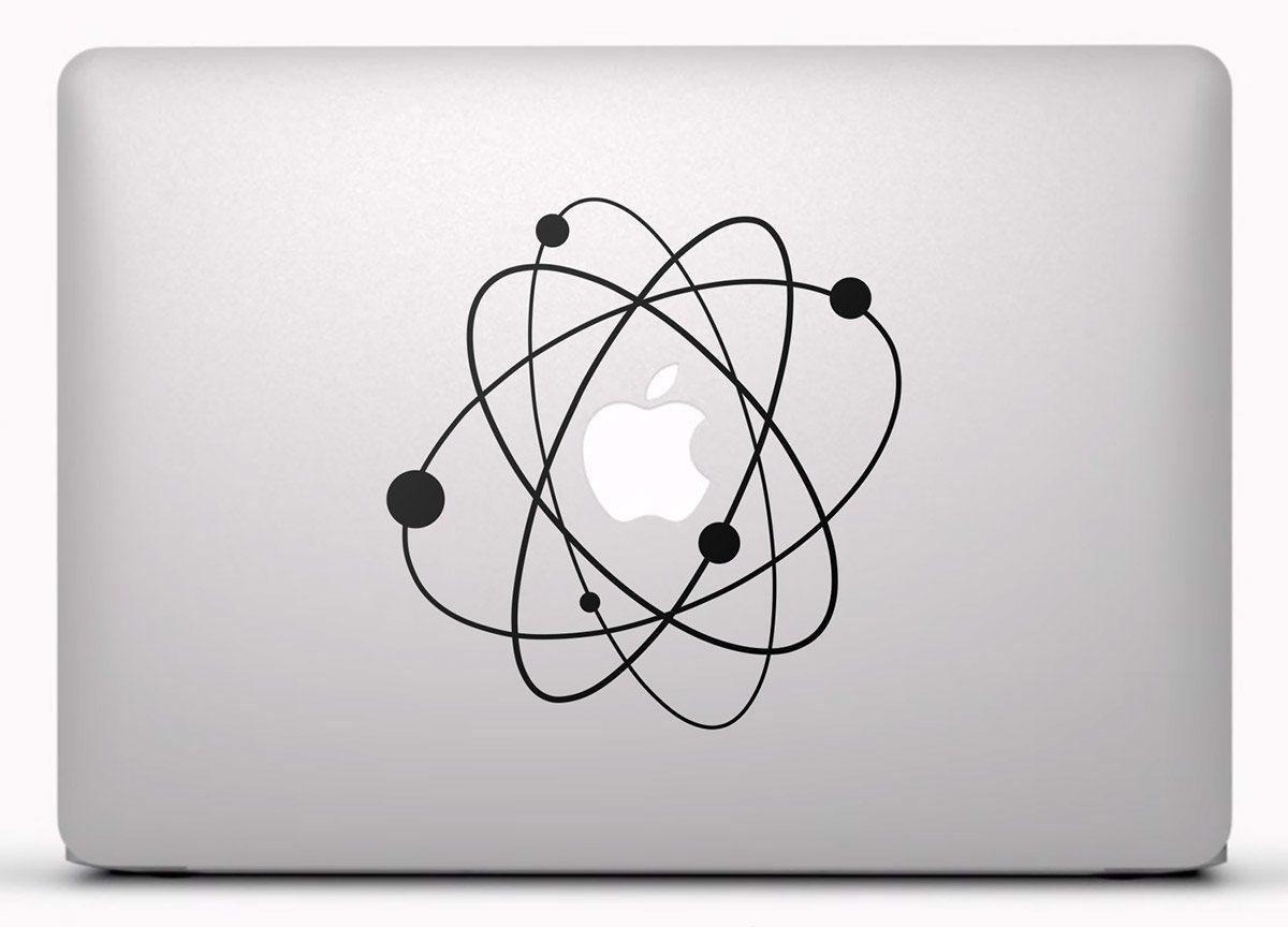 Aufkleber: Atom