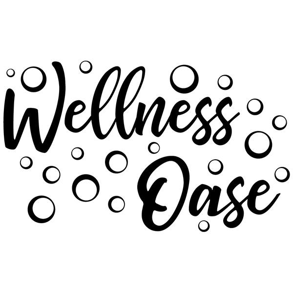 Wandtattoos: Wellness oase - deutsch