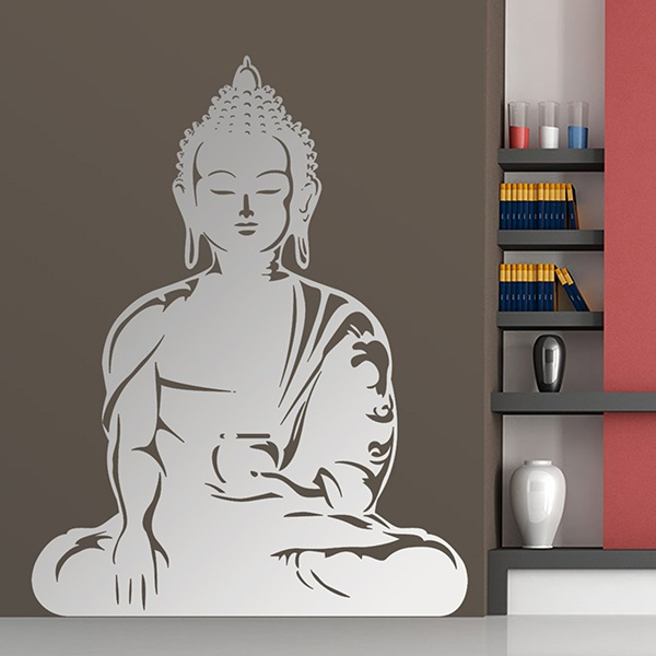 wandtattoo zen buddha siddharta gautama. Black Bedroom Furniture Sets. Home Design Ideas