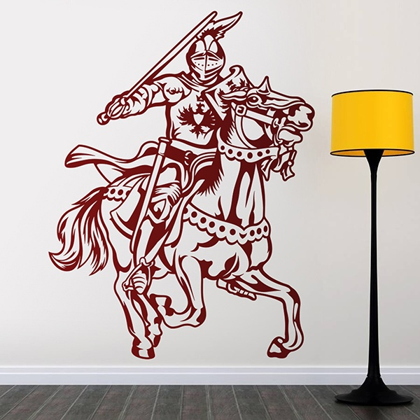 Wandtattoo mittelalterliche ritter - Ritter wandtattoo ...