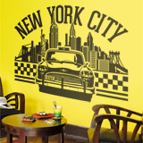 Wandtattoos: New York City 2 2