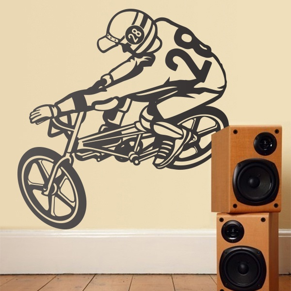 Wandtattoos: Bmx Freestyle