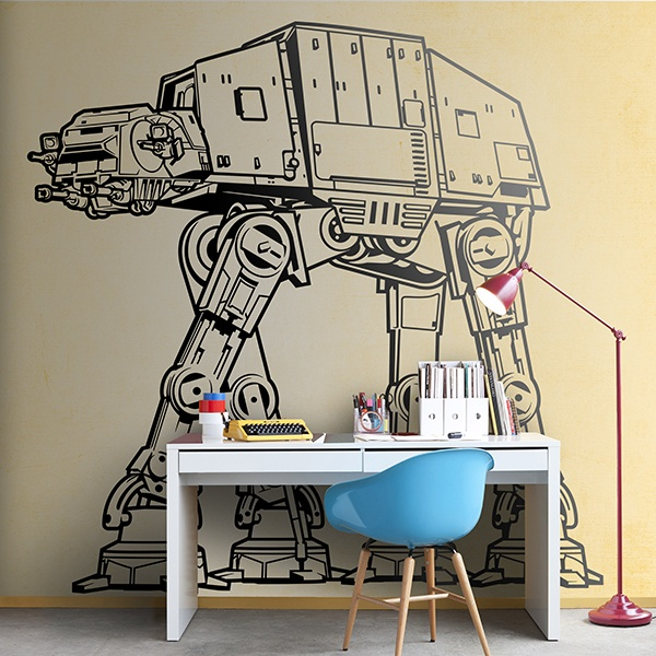 Wandtattoos: AT-AT