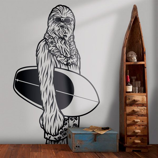 Wandtattoos: Chewbacca California