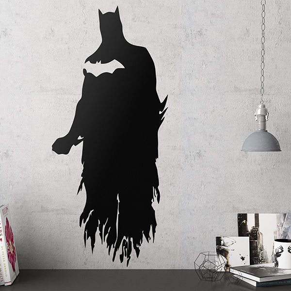 wandtattoo batman silhouette. Black Bedroom Furniture Sets. Home Design Ideas
