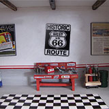 Wandtattoos: Historic Route 66 2