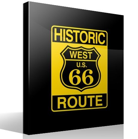 Wandtattoos: Historic Route 66