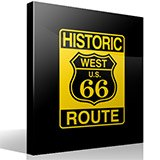 Wandtattoos: Historic Route 66 4