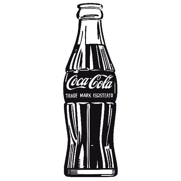 Wandtattoo coca cola warhol for Braune klebefolie