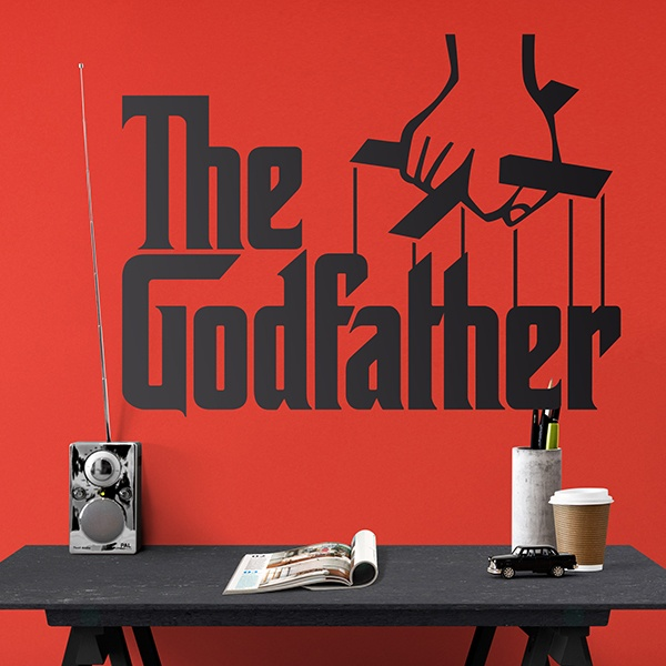 Wandtattoos: The Godfather Logo