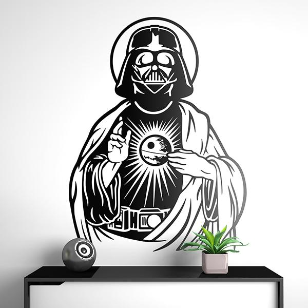Wandtattoos: Darth Vader Heiliges Herz