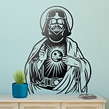 Wandtattoos: Darth Vader Heiliges Herz 3