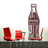 Wandtattoos: Coca Cola Warhol 3