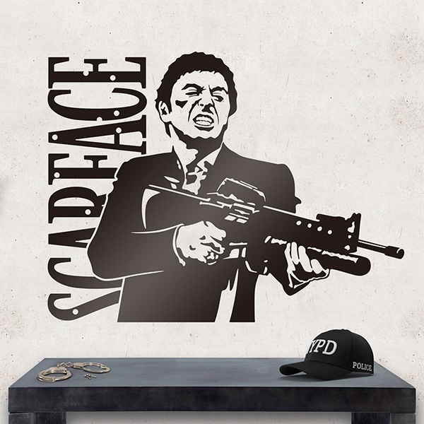 Wandtattoos: Scarface