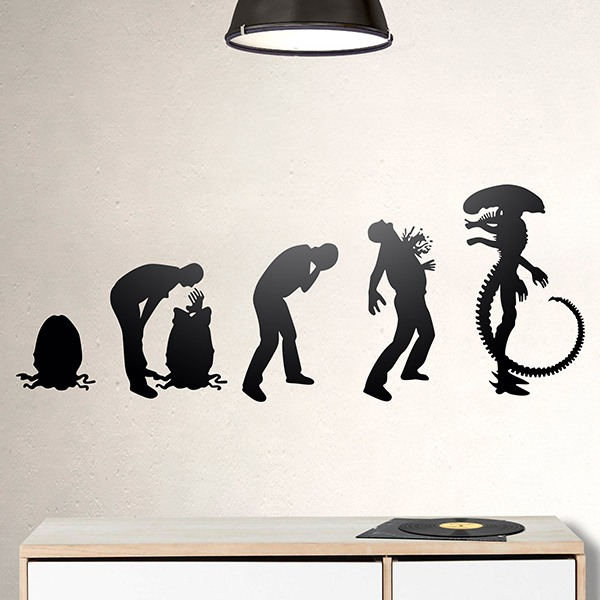 Wandtattoos: Alien Evolution
