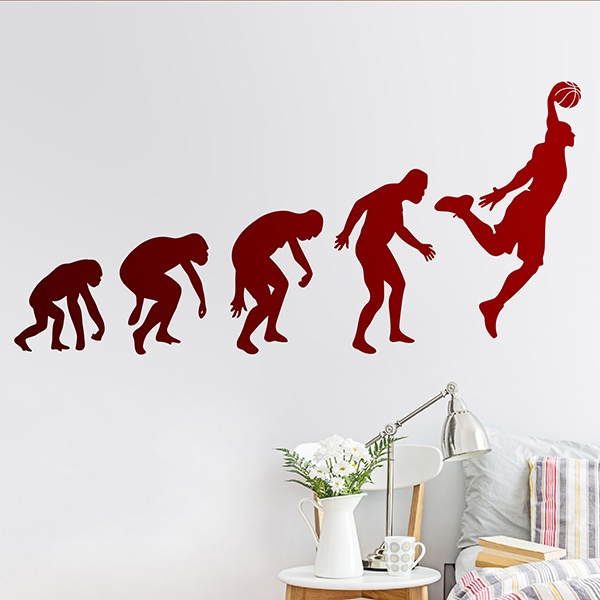 Wandtattoos: Evolution Basketball
