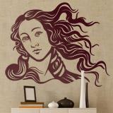 Wandtattoos: Venus von Botticelli 2