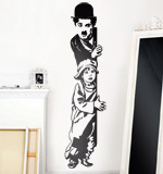 Wandtattoos: Chaplin The Kid 2