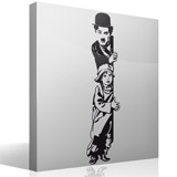 Wandtattoos: Chaplin The Kid 5