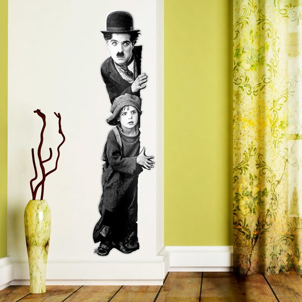 Wandtattoos: Charlot, The Kid