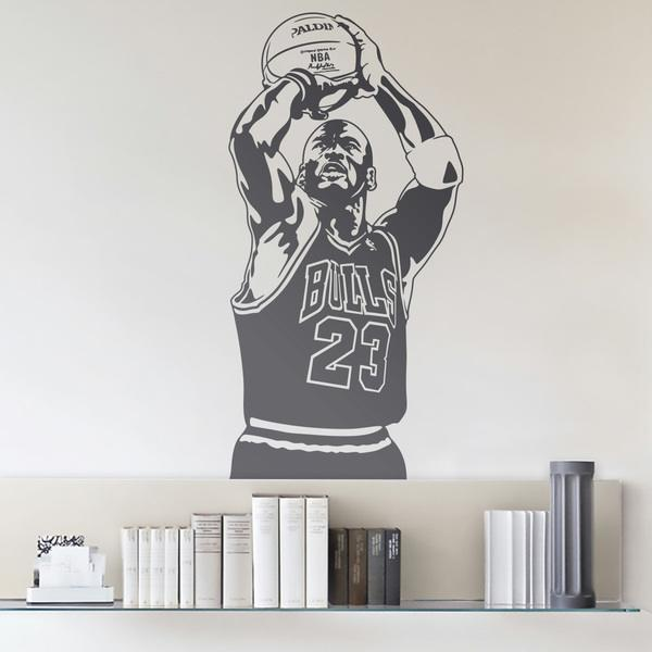 Wandtattoos: Basketball-Spieler