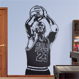 Wandtattoos: Basketball-Spieler 2