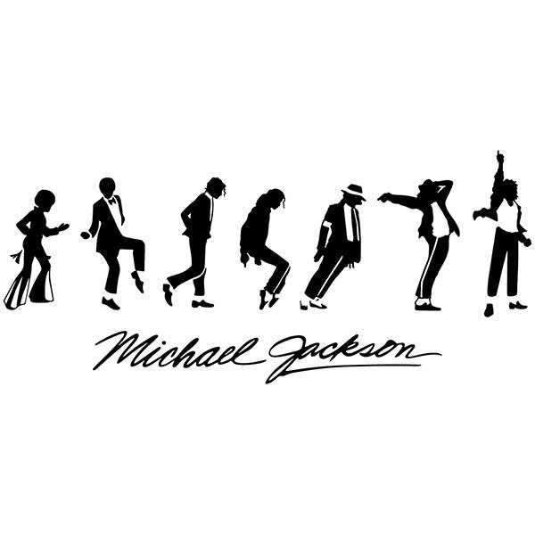 Wandtattoos: Michael Jackson Evolution