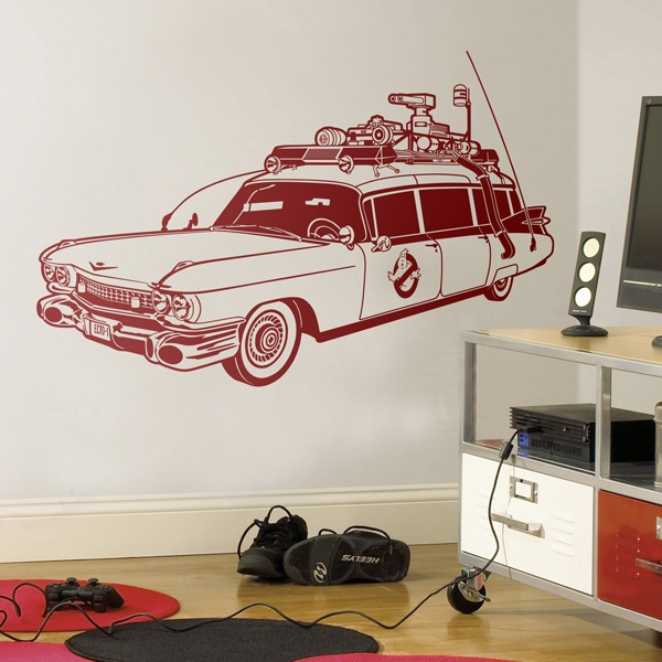 Wandtattoos: Ecto-1 (Ghostbusters)