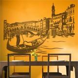 Wandtattoos: Rialto-Brücke in Venedig 2