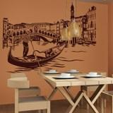 Wandtattoos: Rialto-Brücke in Venedig 3