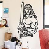 Wandtattoos: Conan der Cimmerier 0