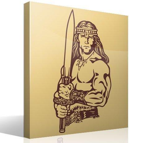 Wandtattoos: Conan der Cimmerier