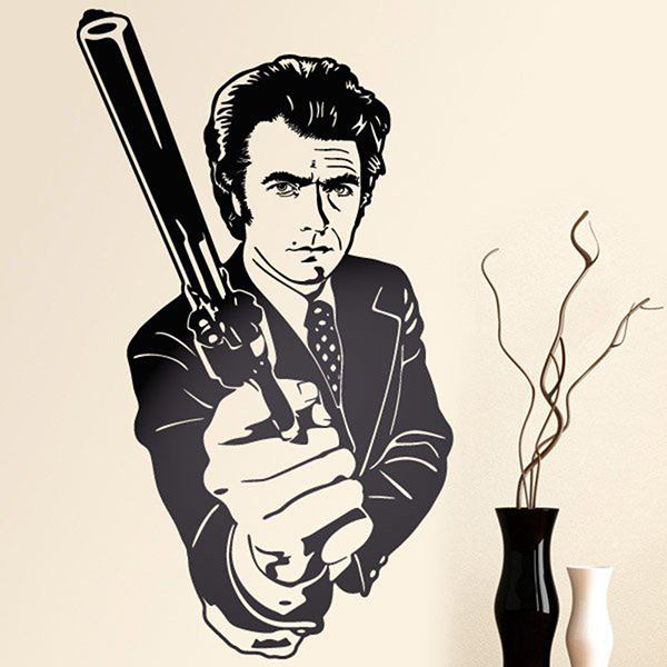 Wandtattoos: Dirty Harry