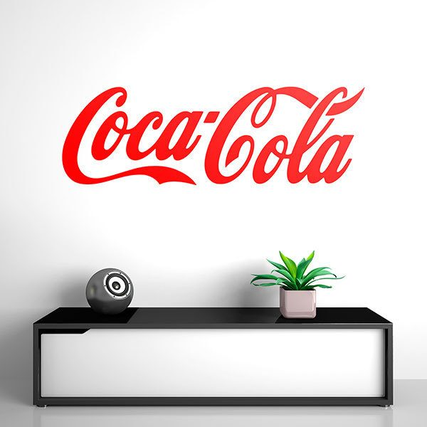 Wandtattoos: Coca Cola Bigger