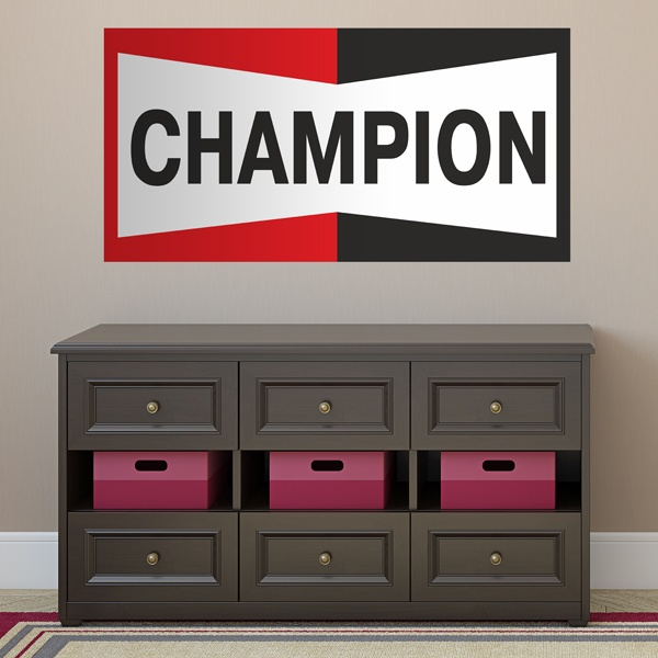 Wandtattoos: Champion Bigger