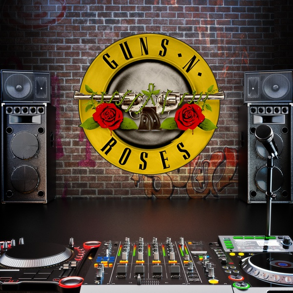 Wandtattoos: Guns n Roses Bigger