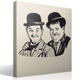 Wandtattoos: Laurel und Hardy 2