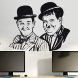 Wandtattoos: Laurel und Hardy 3