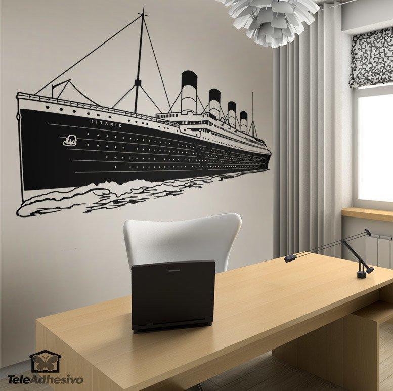 Wandtattoos: Titanic