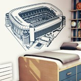 Kinderzimmer Wandtattoo: Santiago-Bernabéu-Stadion 3