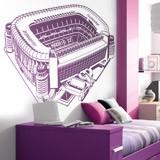 Kinderzimmer Wandtattoo: Santiago-Bernabéu-Stadion 4