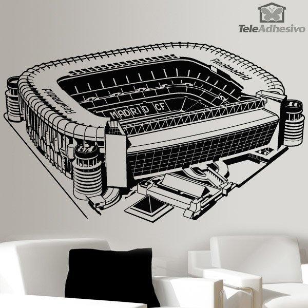 Kinderzimmer Wandtattoo: Santiago-Bernabéu-Stadion