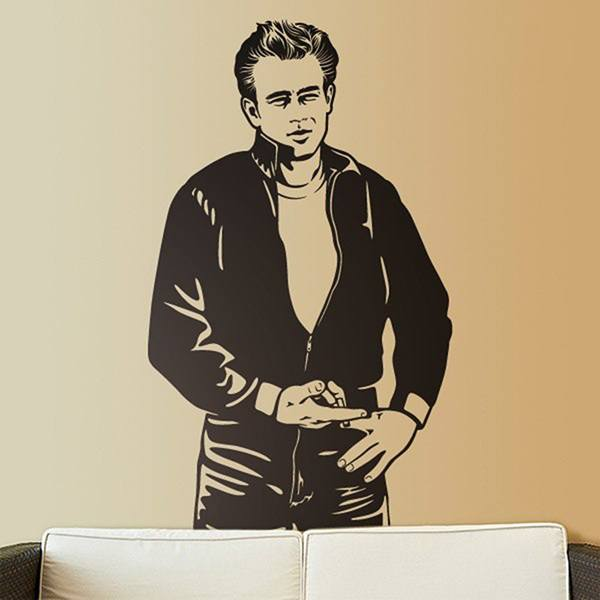 Wandtattoos: James Dean Bomber