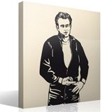 Wandtattoos: James Dean 2