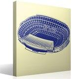 Wandtattoos: Camp Nou Stadion 2