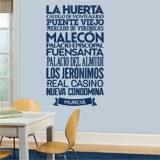 Wandtattoos: Typografische Murcia 3
