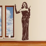 Wandtattoos: Gilda - Rita Hayworth 4