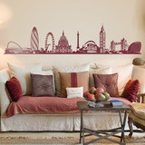 Wandtattoos: London Skyline 0