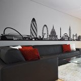 Wandtattoos: London Skyline 3